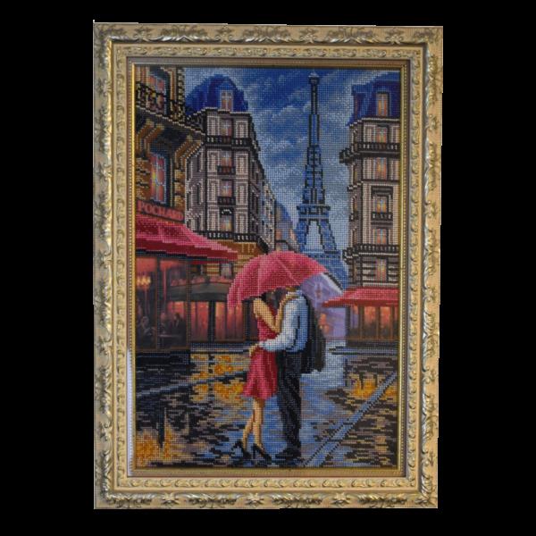 картина Париж вышитая бисером