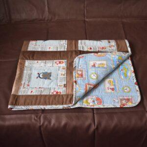детское одеяло квилтинг