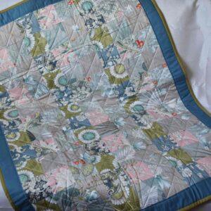 одеяло из кусочков пэчворк